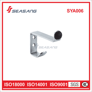 High Quality Stainless Steel Door Stop with Coat Hook, Sya006
