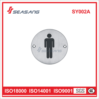 Stainless Steel High Quality Signage Sy002A