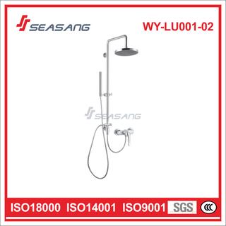 Stainless Steel Single Handle Rainfall and Hand-Held Bathroom Shower