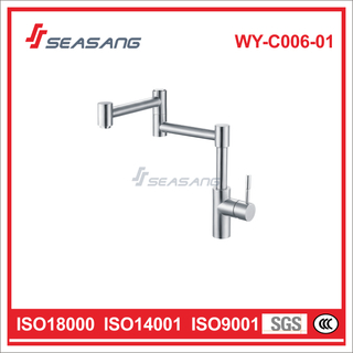 Stainless Steel Kitchen Faucet WY-C006-01C