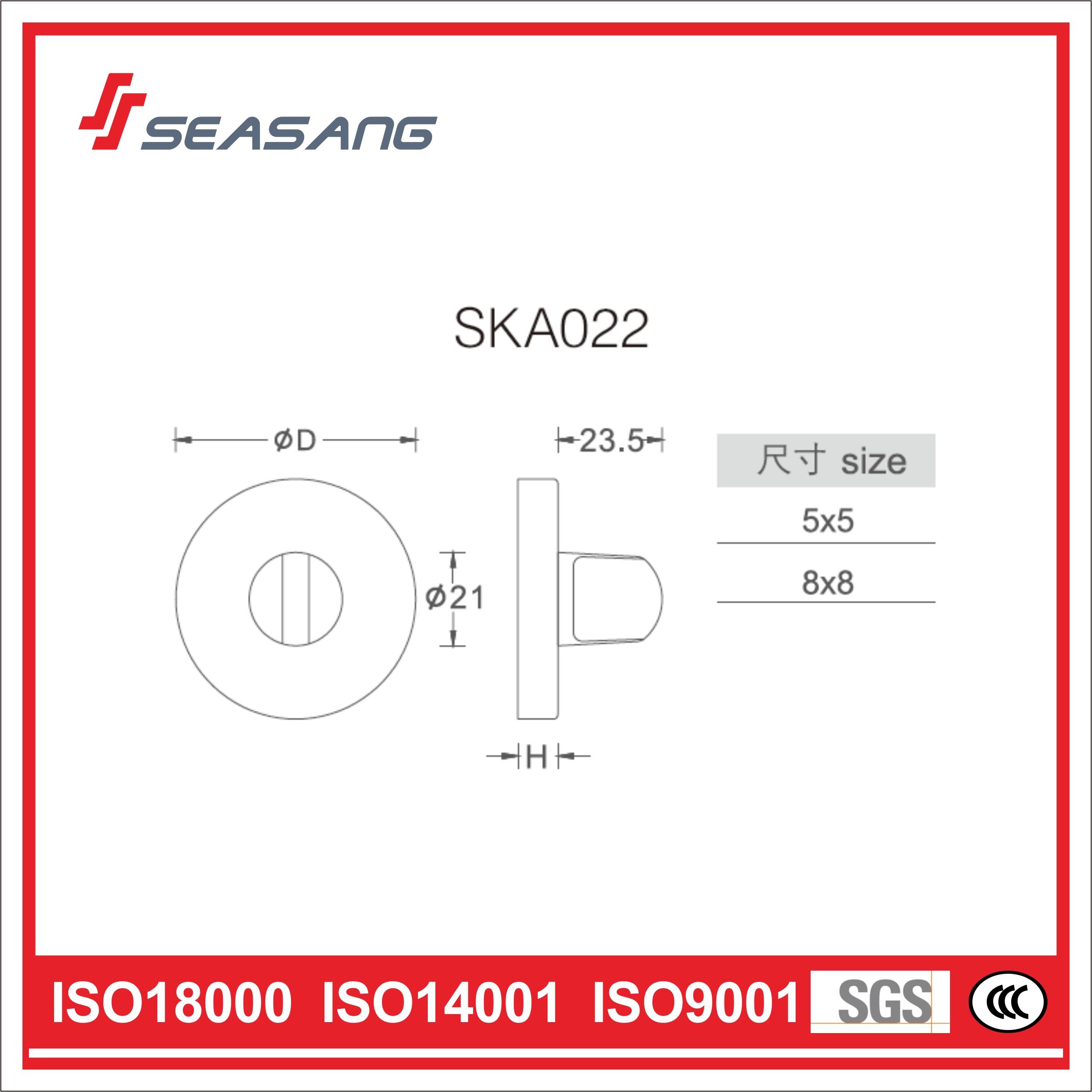Stainless Steel Bathroom Handle Ska022