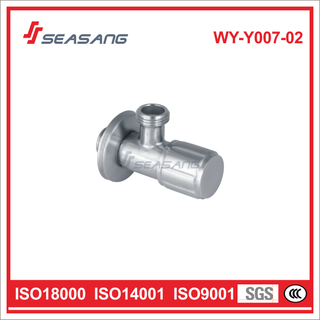 Bathroom Lavatory Stainless Steel Plumbing Control Water Angle Valve