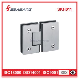 Stainless Steel Shower Door Hinge Skh011 for Glass 180 Degree