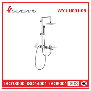 Stainless Steel Bathroom Rainfall Hand Shower Set with Watermark Certificate