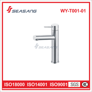 Stainless Steel Sanitary Ware Bathroom Basin Faucet Vessel Tap