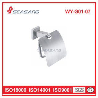 Stainless Steel Bathroom Tissue Holder for Lavatory Toilet and Wc
