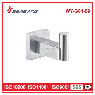 Decorative Bathroom Hardware Stainless Steel Single Towel Hook